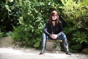 Linda Jaxson in Pollok House Gardens
