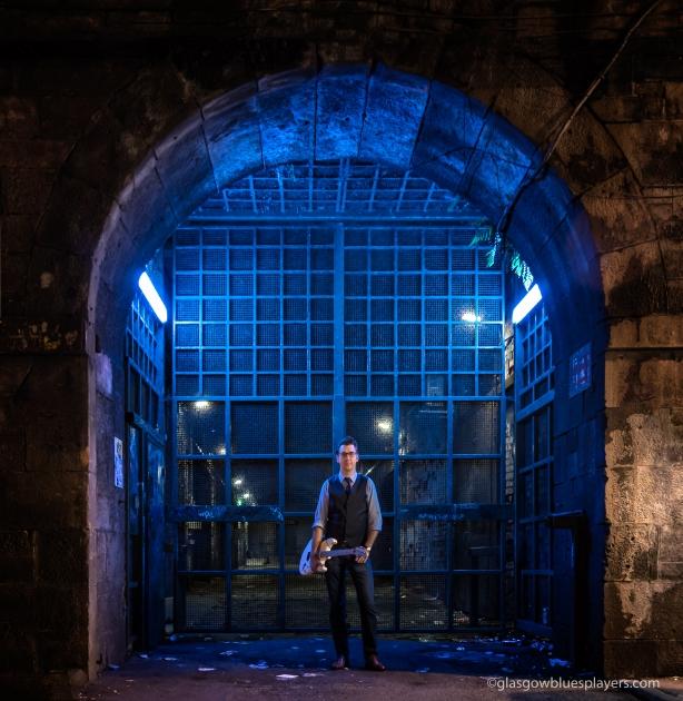 Brian Carpy close to MacSorley's, Glasgow